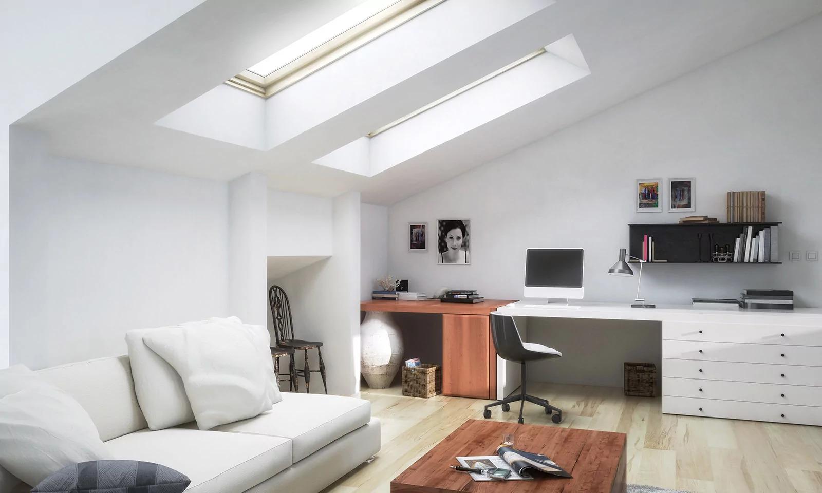 10 fantastycznych pomysłów, jak urządzić poddasze w nowoczesnym domu