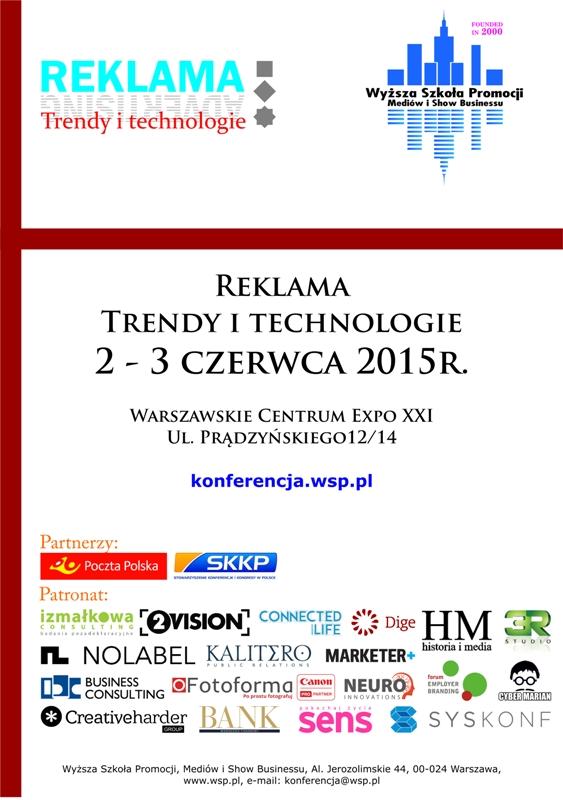 "Konferencja ""Reklama. Trendy i Technologie"""