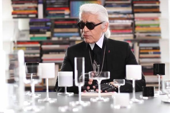Karl Lagerfeld w kuchni