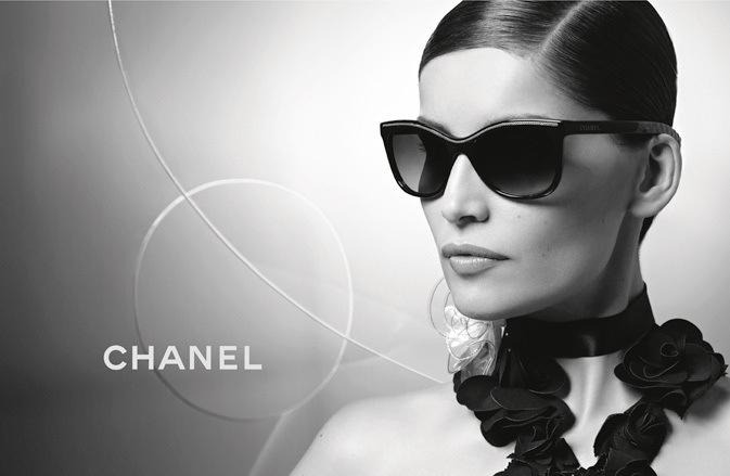 Leatitia Casta dla Chanel Eyewear