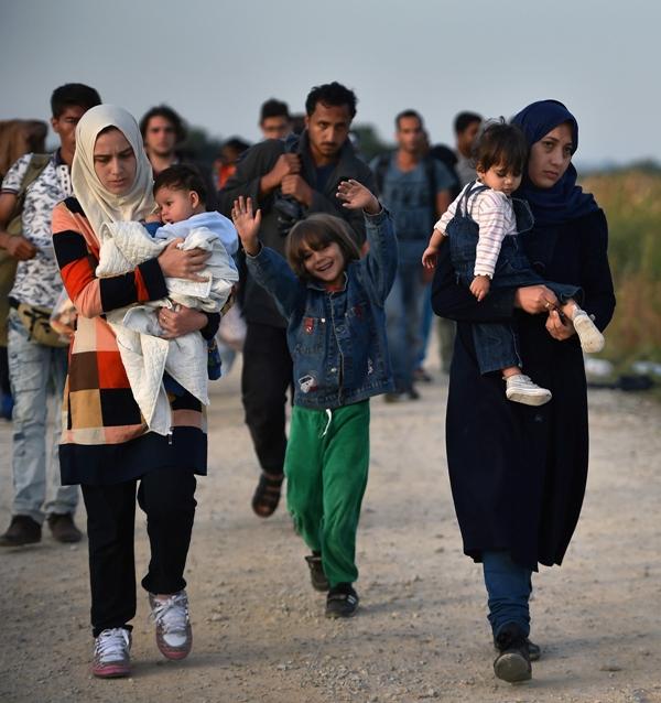Wokół nas: Uchodźcy