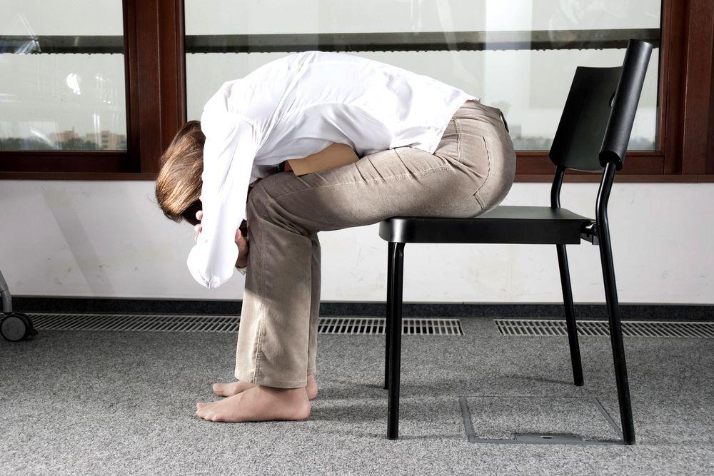 Joga w pracy: rozciągnij kręgosłup