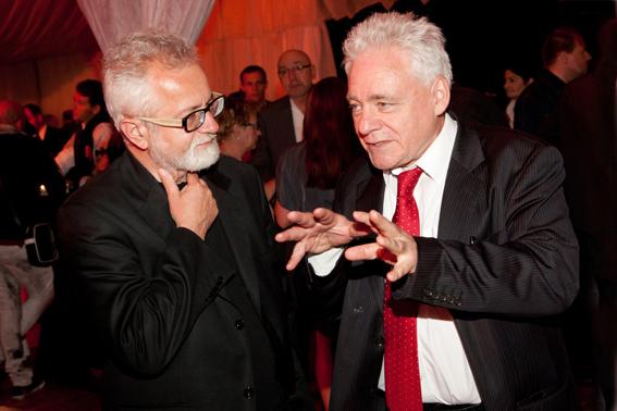 Gala Kryształowe Zwierciadła 2012, Tomasz Jastrun w rozmowie z Henrykiem Sawką