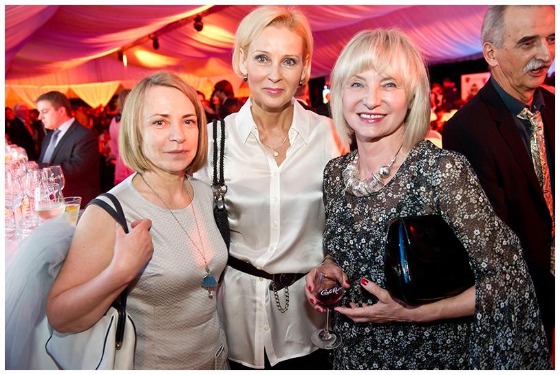 Gala Kryształowe Zwierciadła 2012, Alina Gutek, Maria Gładkowska, Beata Dzięgielewska