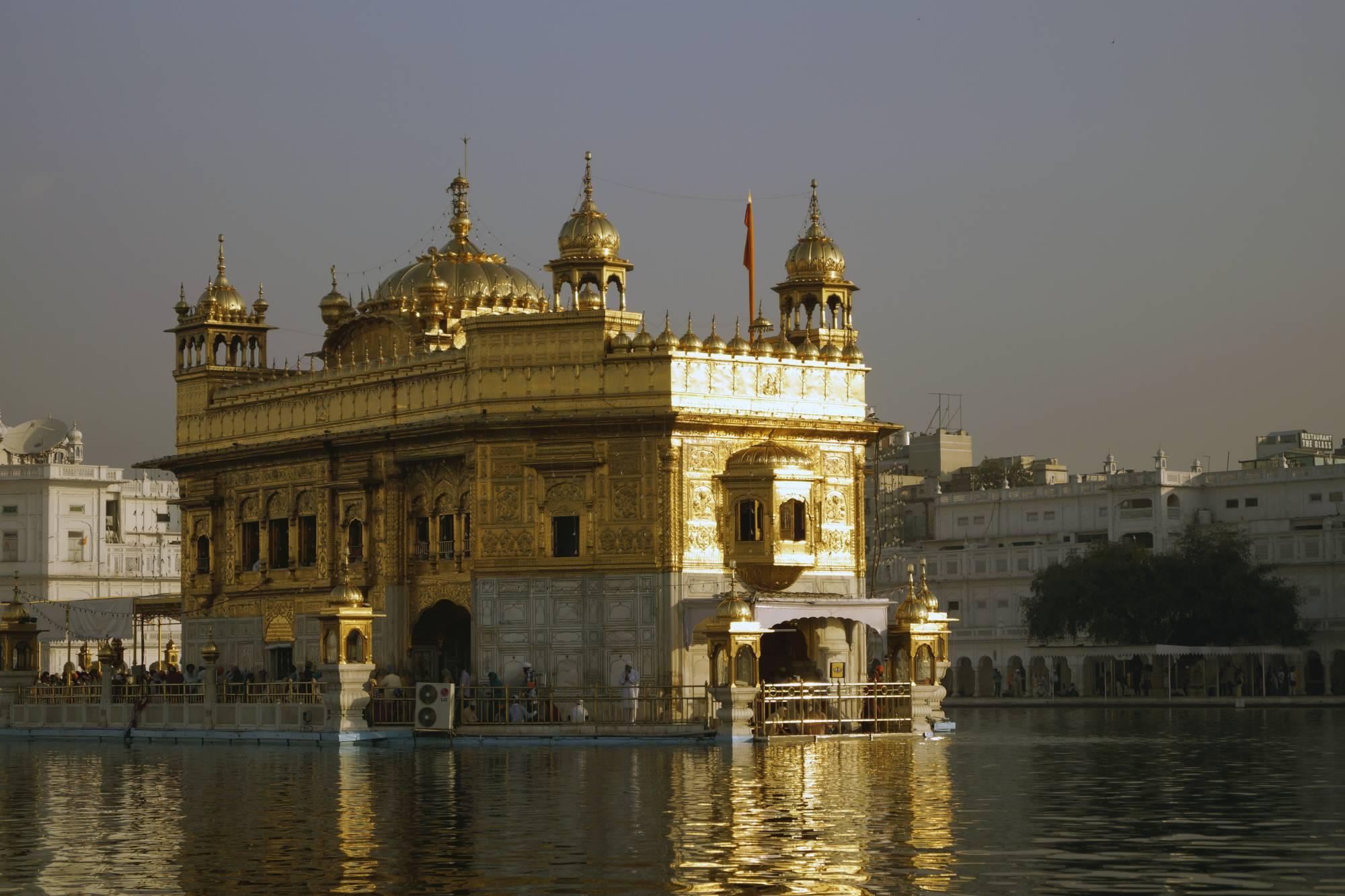 Złota Świątynia w Amritsarze
