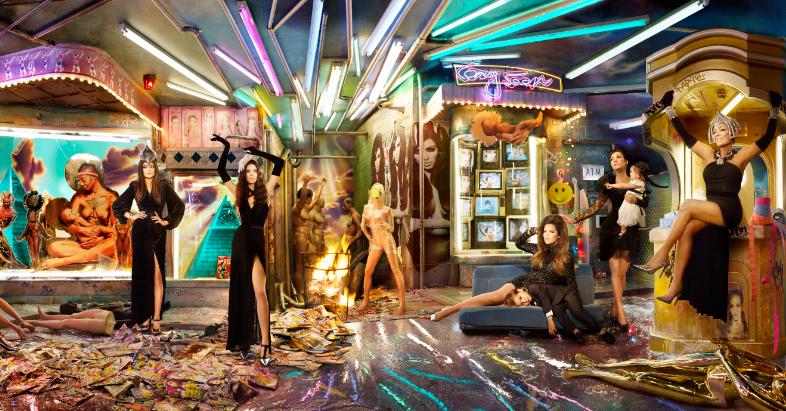 Naomi Campbell, Miley Cyrus i Rodzina Kardashians w obiektywie Davida LaChapelle'a