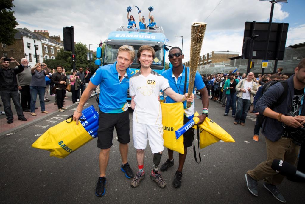 Polacy w sztafecie olimijskiej