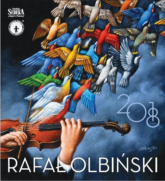 Kalendarz na 2018 rok: Malarstwo Rafała Olbińskiego