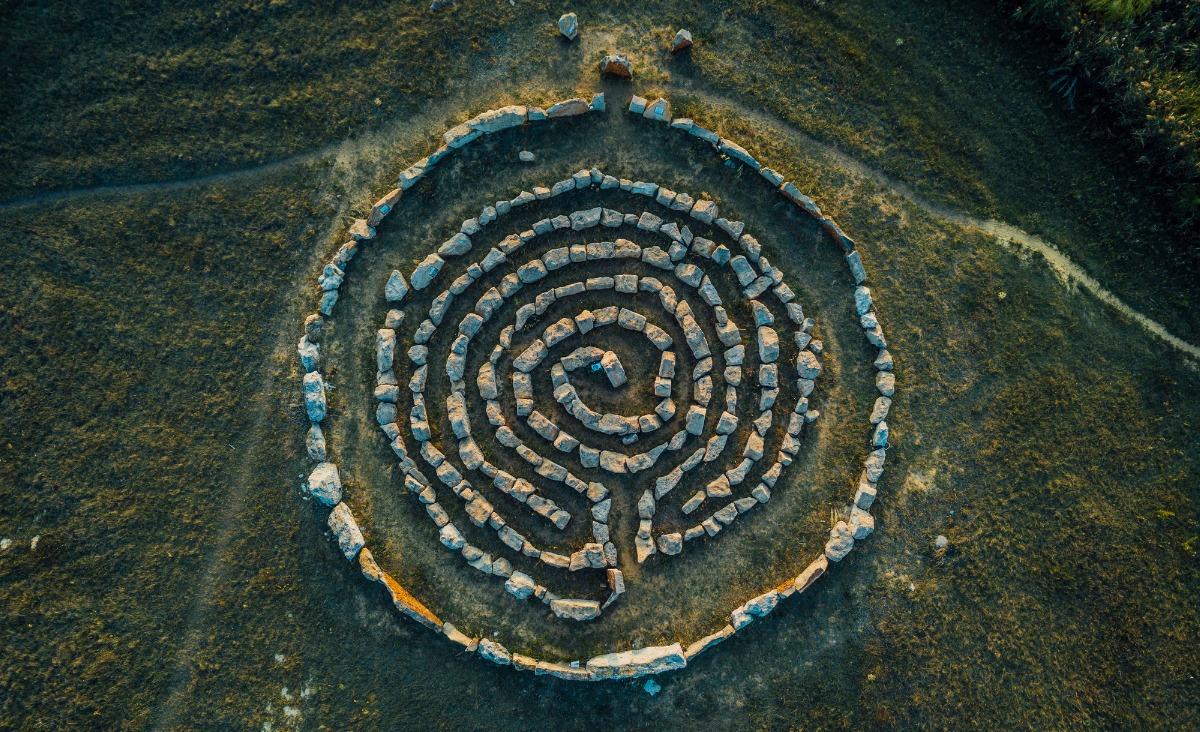 Rozwój: medytacja labiryntu