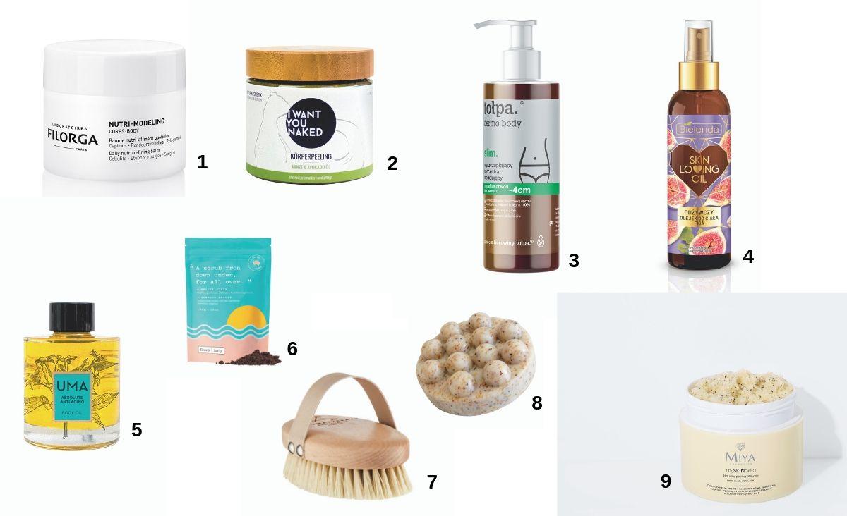 Preparaty do masażu ciała (Fot. materiały prasowe)