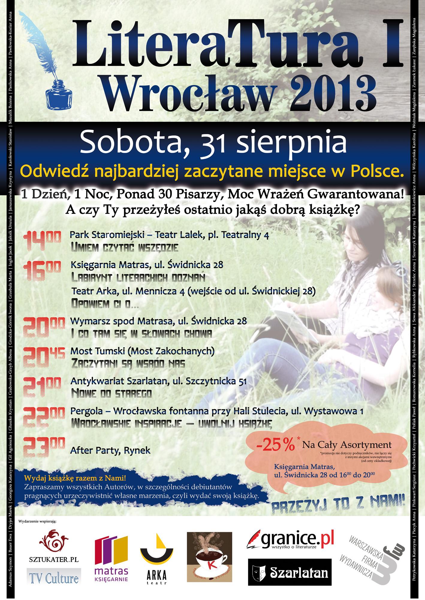 """""""LiteraTura I Wrocław 2013"""""""