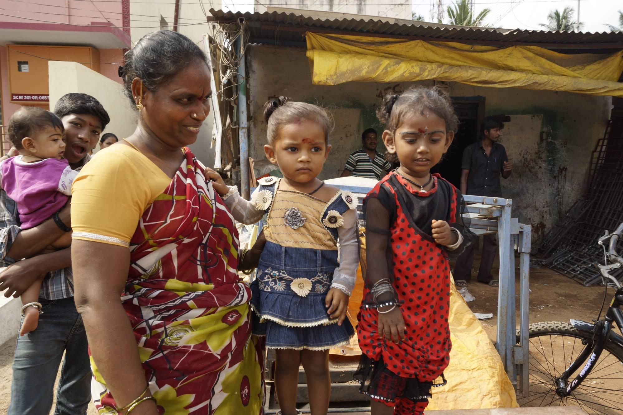 Mieszkanki Kańcipuram