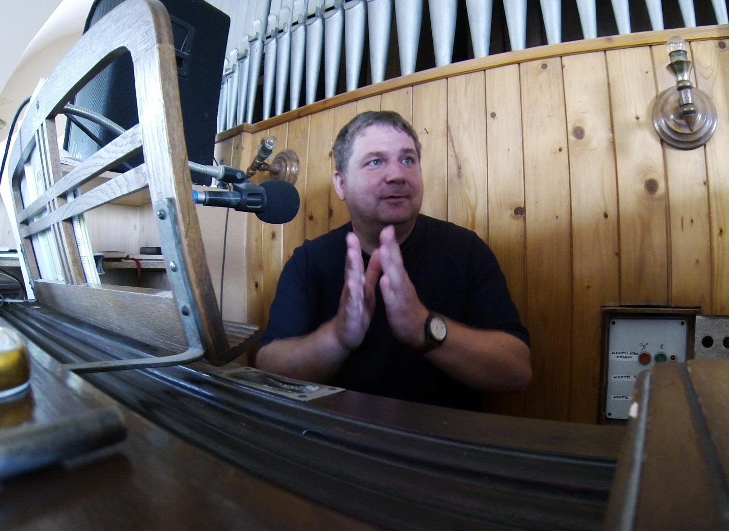 Odkrywamy zawody: organista