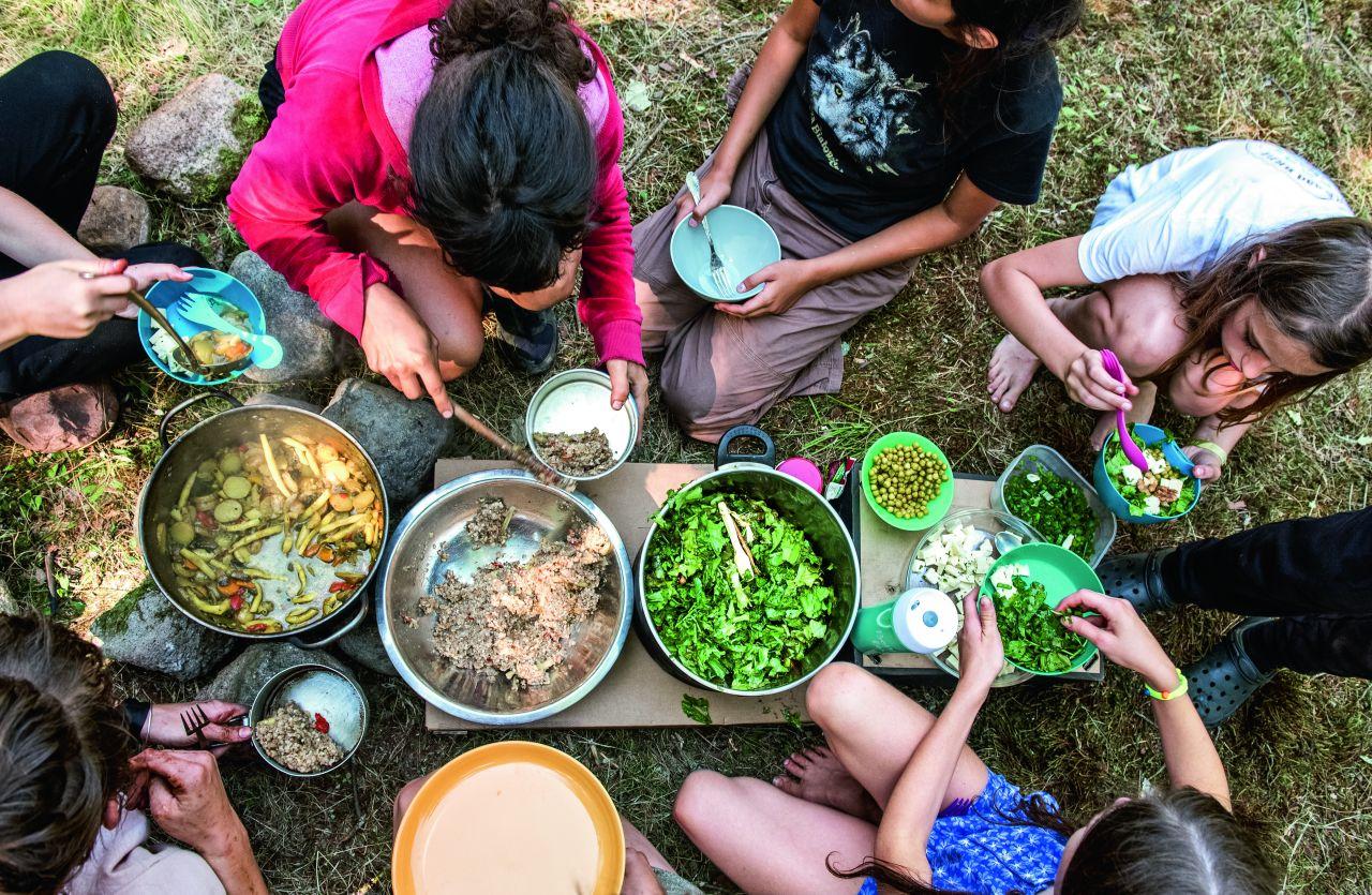 Własnoręcznie przygotowane jedzenie smakuje najlepiej (Fot. Anna Maziuk)