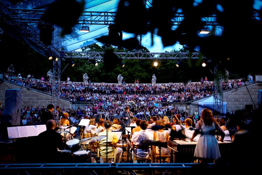 Letnia trasa koncertowa Młodej Polskiej Filharmonii