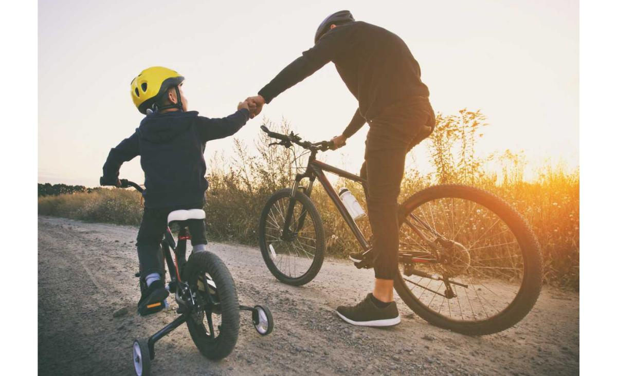 Jaki zachęcić dziecko do jazdy na rowerze?