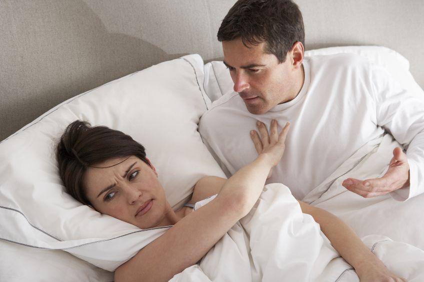 Najczęstsze trudności seksualne w związkach - jak kłótnie wpływają na seks