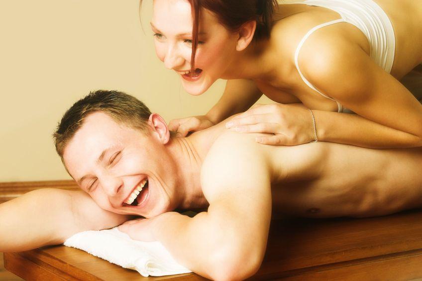 Masaż zamienia seks
