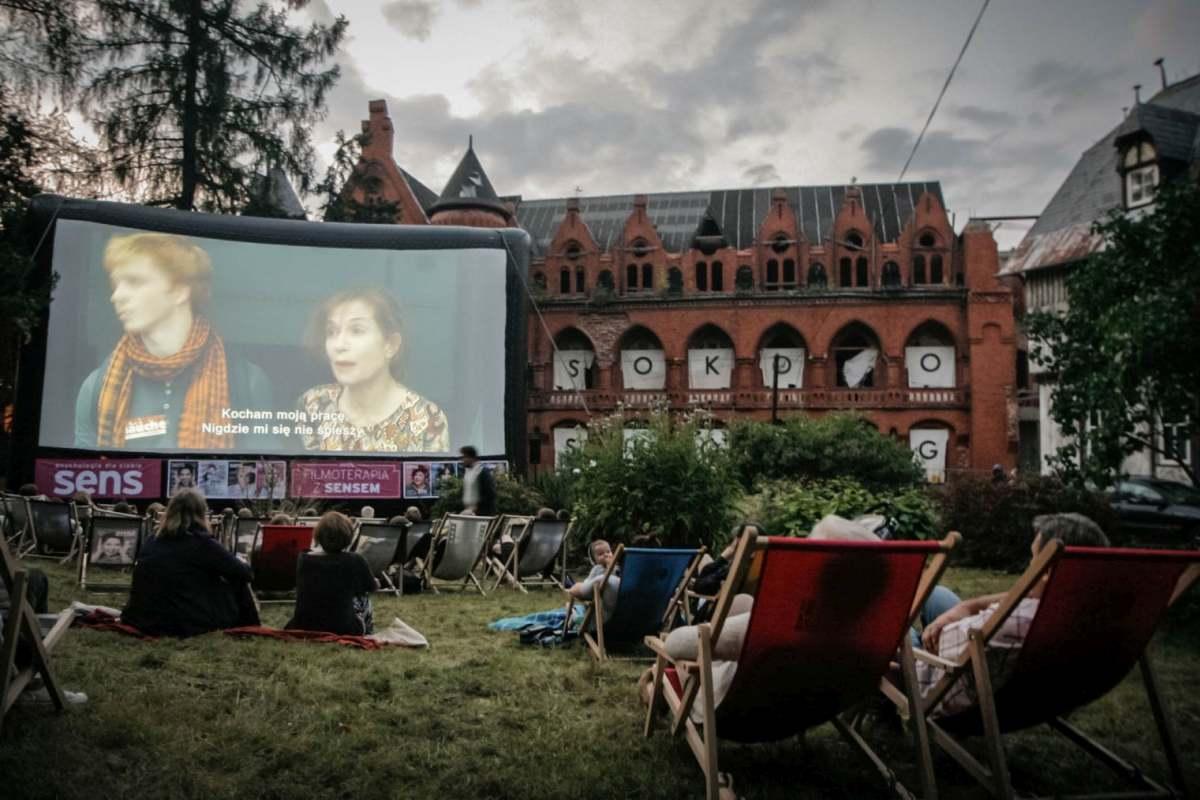 Filmoterapia z Sensem podczas 6. edycji Festiwalu Hommage à Kieślowski w Sokołowsku.