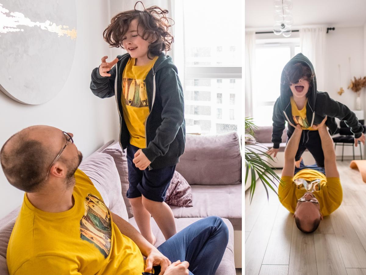 Ubrania dla taty i syna - nowości w kolekcji wiosna/lato 2021 marki volcano!