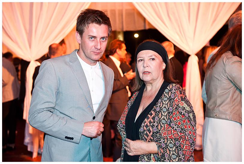 Gala Kryształowe Zwierciadła 2012, Marta Lipińska i Rafał Królikowski