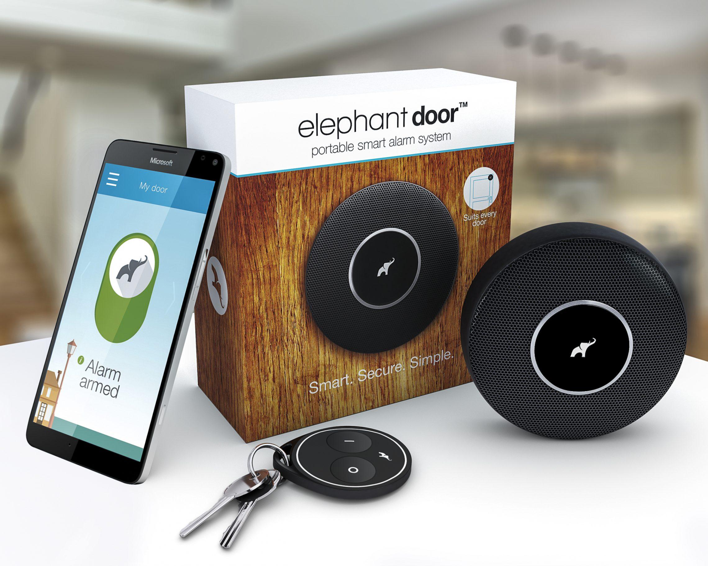 Elephant Door: bezpieczeństwo domu w telefonie