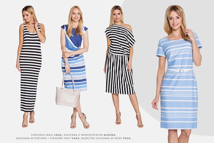 9db6903d71d4 Sukienki w paski pojawiły się kolekcjach wiosna-lato 2017 takich domów mody  jak Gucci czy Fendi