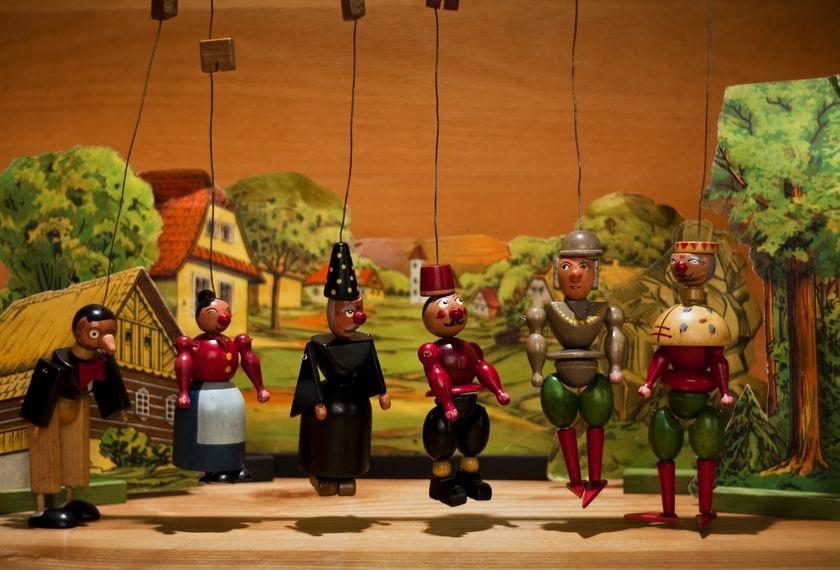 zabawa z dziećmi w teatr