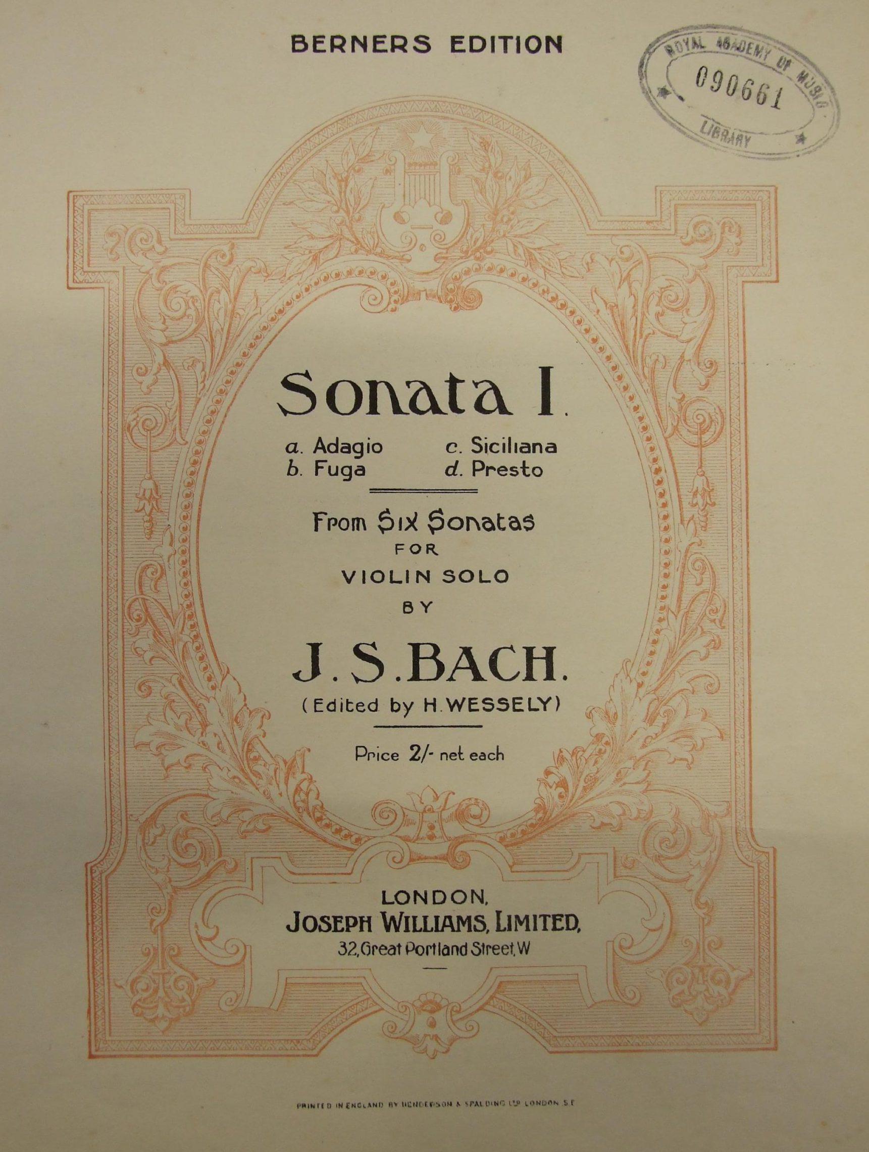 Utwór tygodnia Młodej Polskiej Filharmonii: Sonata Bacha