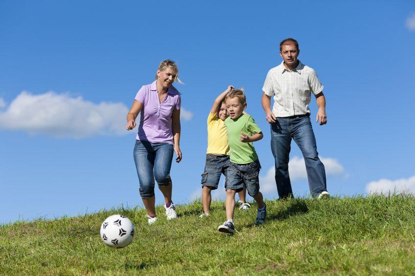 Jak ćwiczyć z przedszkolakiem? Znana blogerka radzi