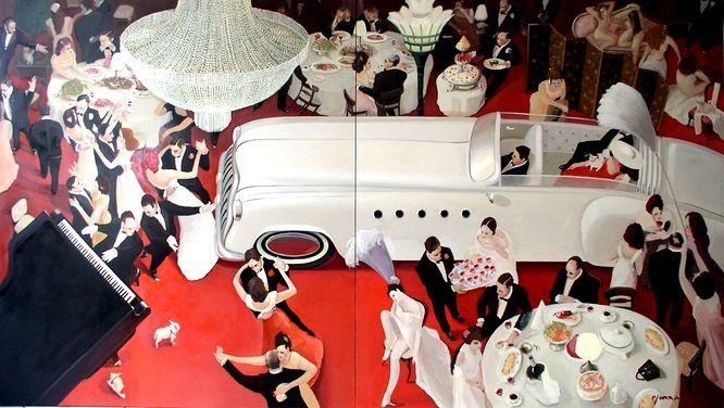 Galeria sztuki Katarzyny Napiórkowskiej na Mont des Arts w Brukseli