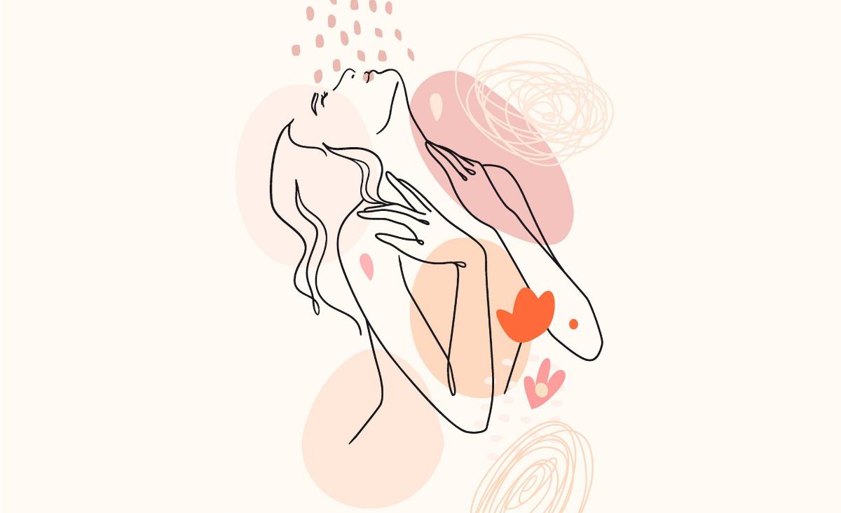 Piersi - wrota do miłosnego połączenia z mężczyzną. I z samą sobą