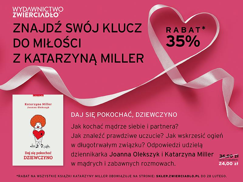 Katarzyna Miller rozdaje klucze do miłości na Walentynki