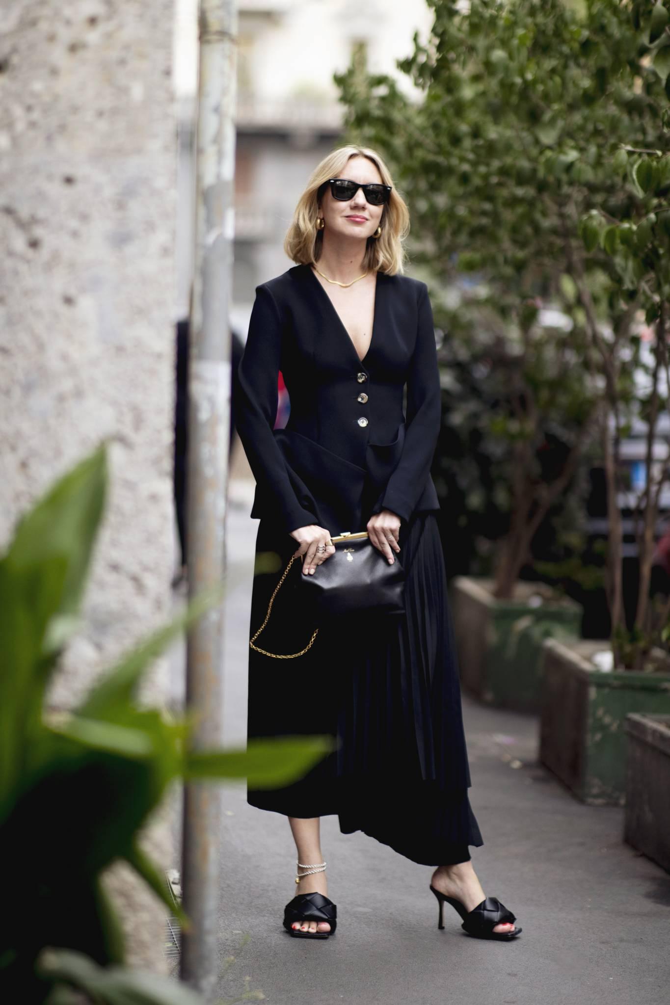 Czarny total look - stylizacje na każdą okazję