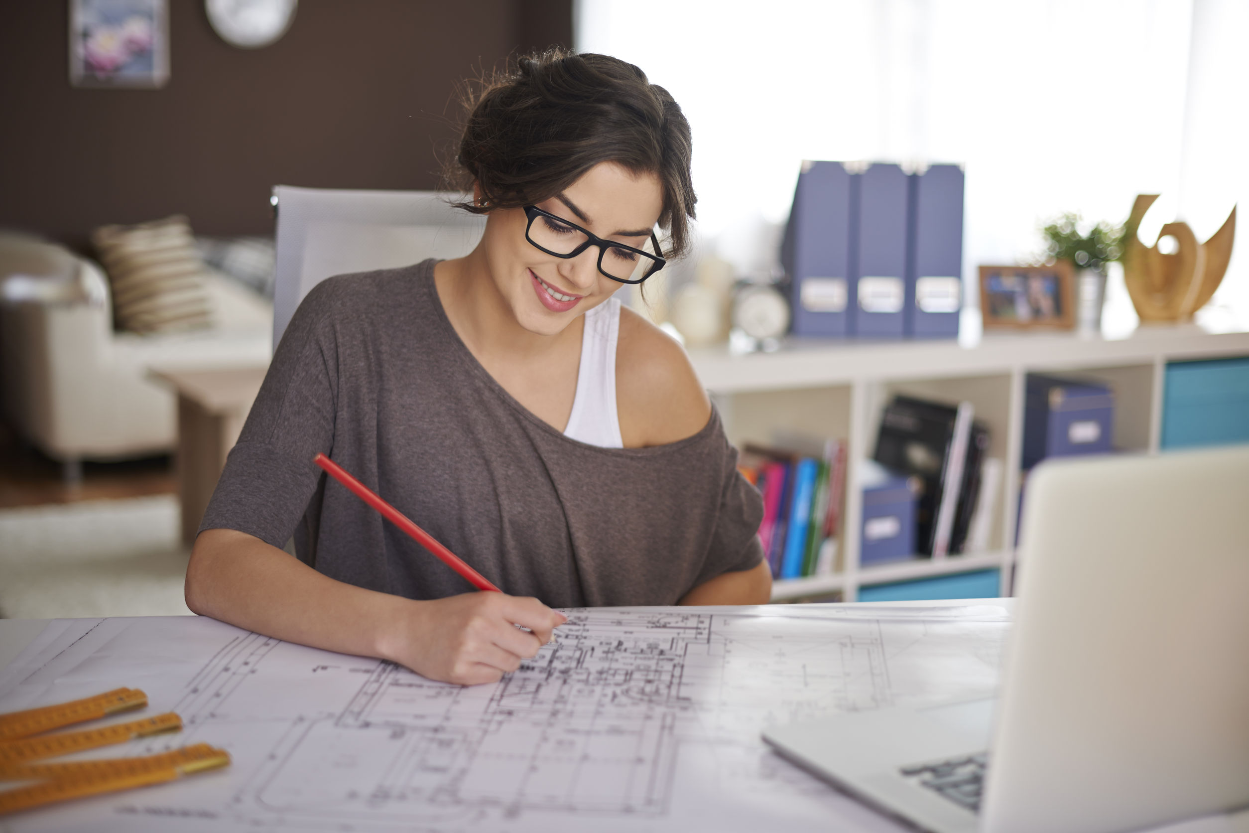 37877084 - freelancer during the work in home office