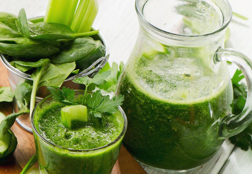 Raw food. Przepisy na zielone koktajle