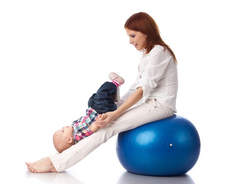 Ćwiczenia z półrocznym dzieckiem