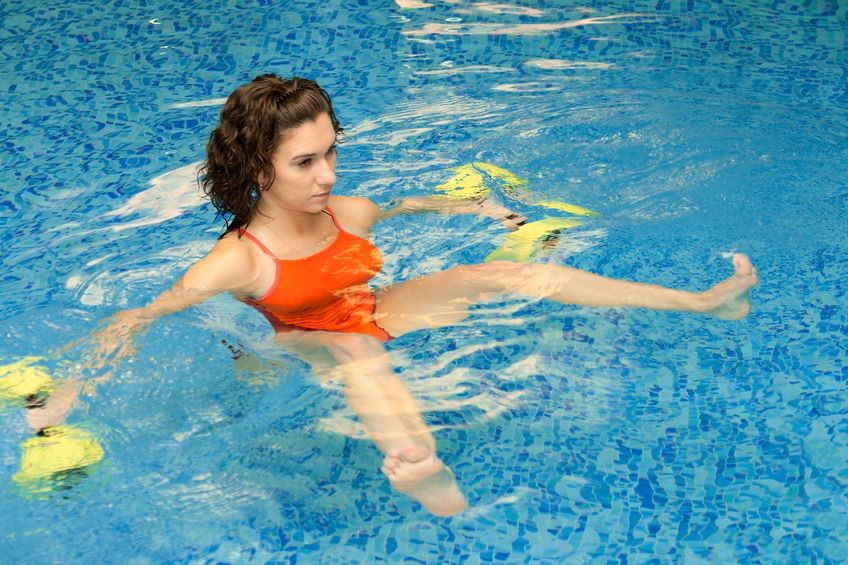 ćwiczenia w wodzie