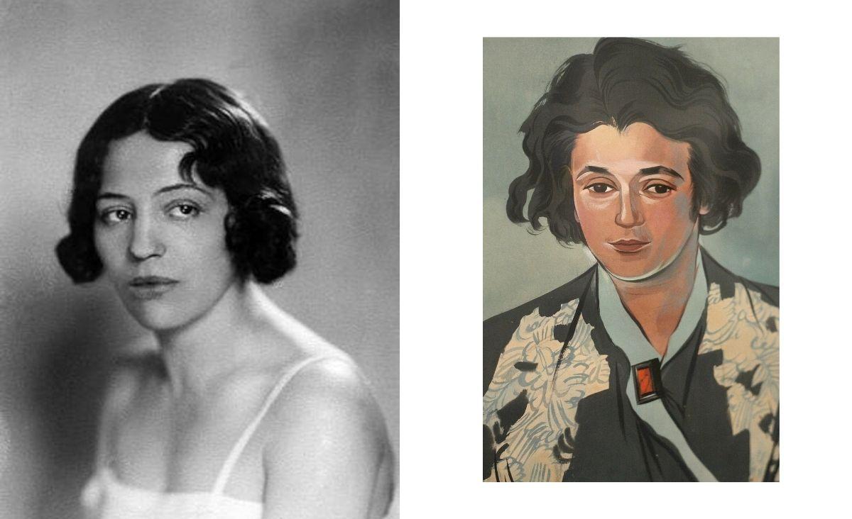 Zofia Stryjeńska - niezależna, oddana sztuce