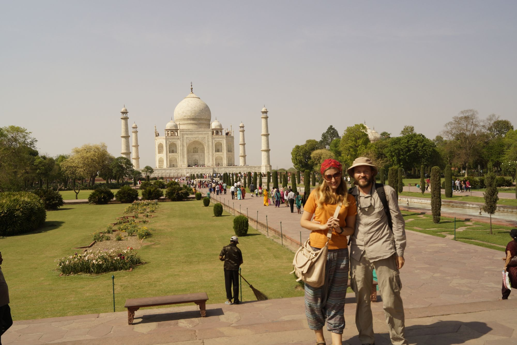 Zakochani w świecie i Tadż Mahal