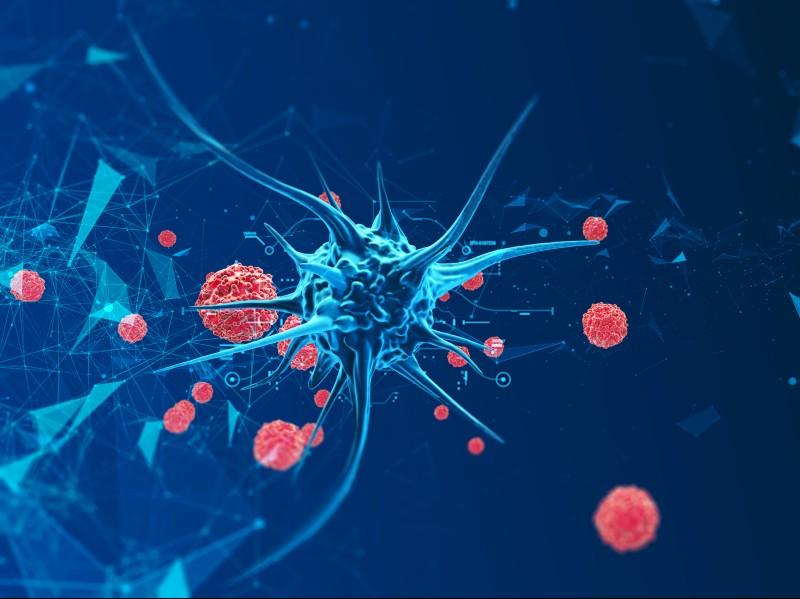 Jeżeli w jednej komórce pojawi się uszkodzenie, które nie zostanie naprawione, może się ona nieprawidłowo dzielić w wyniku takiego mechanizmu powstanie nowotwór. (Fot. iStock)