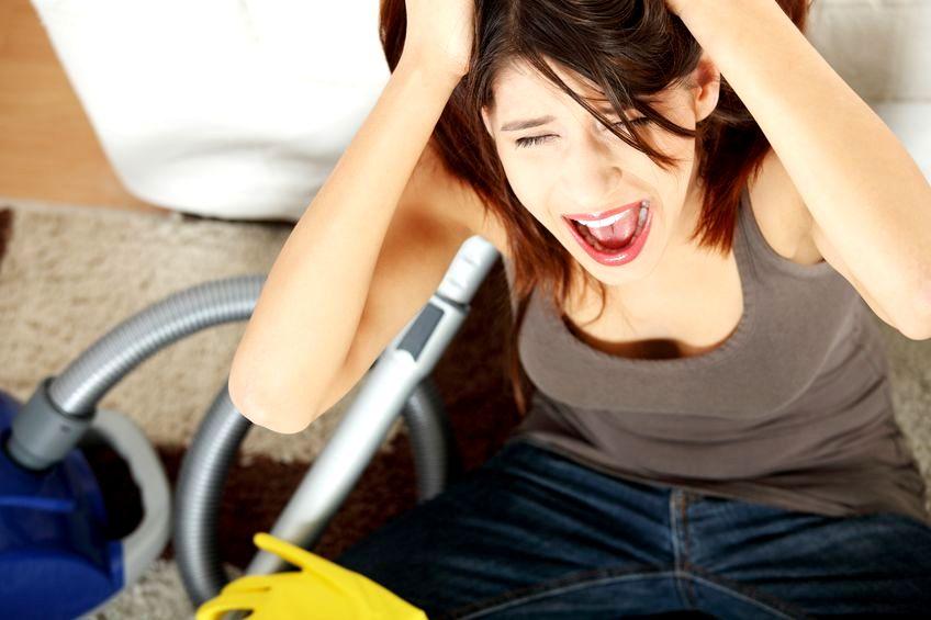 Podział obowiązków w domu źródłem stresu