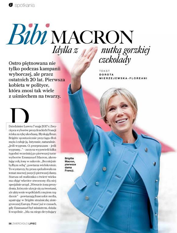 Bibi Macron: Idylla z nutką gorzkiej czekolady