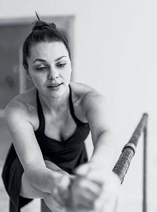 Barre - balet w wersji fitness. Rozmowa z tancerką Dorotą Mentrak-Bączkowską