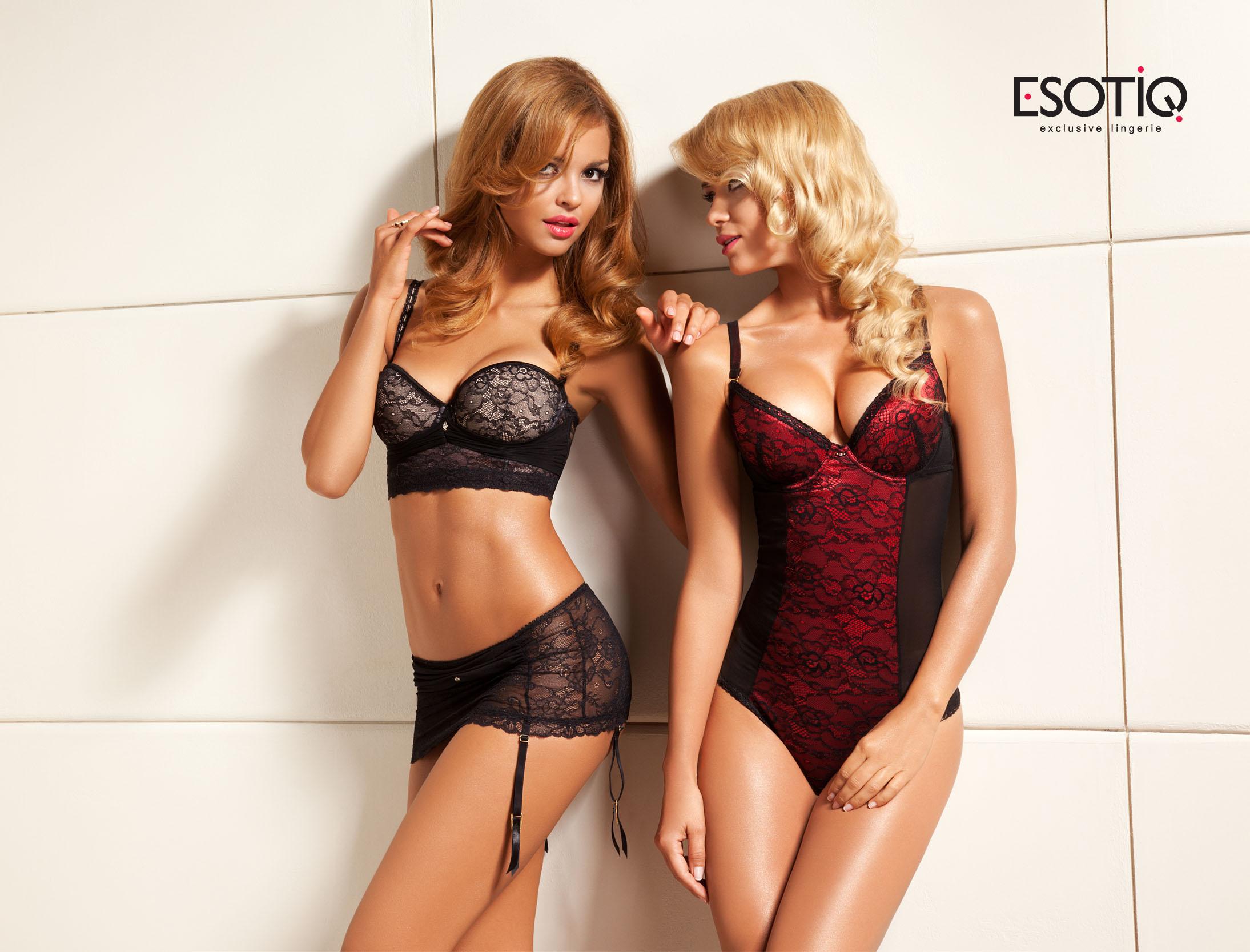 Czarno - czerwona kolekcja Esotiq