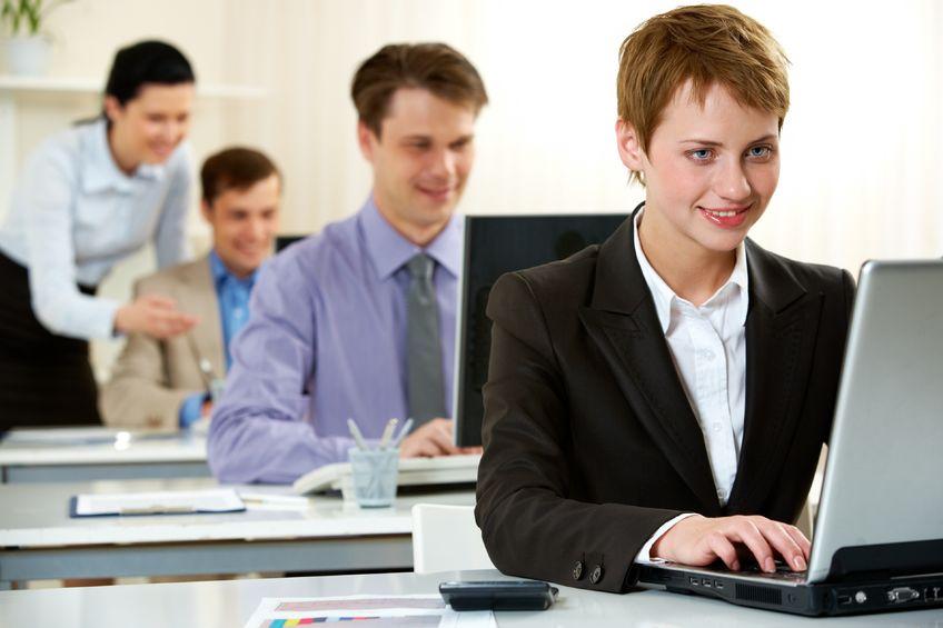 Co-working - dwie firmy, jedna asystentka