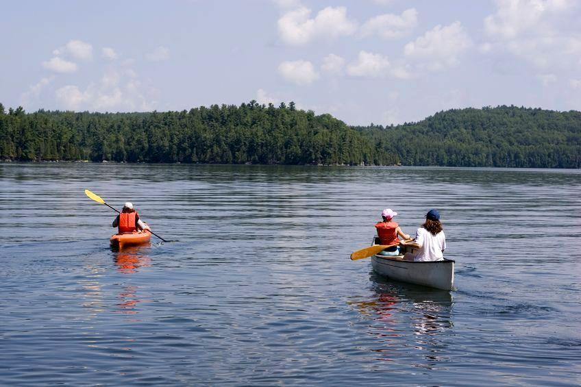 Wakacje z dziećmi:na spływie kajakowym