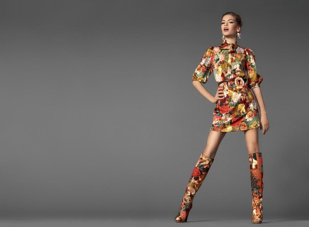 Baroque, lookbook Dolce&Gabbana