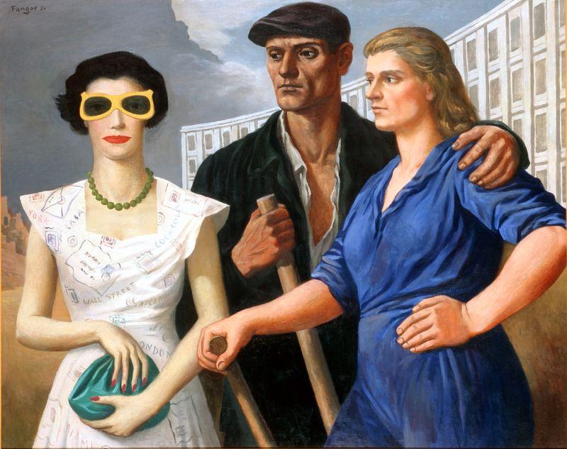 Wojciech Fangor: socrealizm i psychodelia