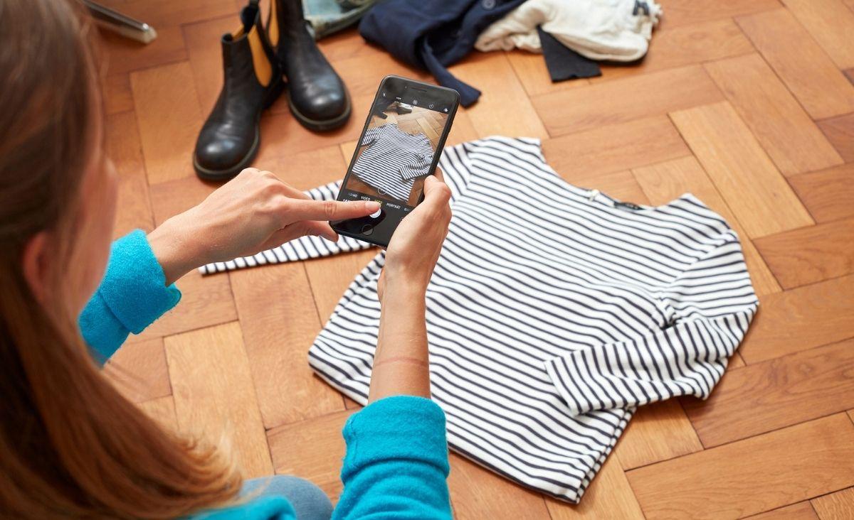 Używane ubrania przez Zalando